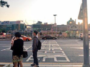韓国のソウル駅